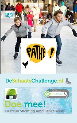 Path de kuip is ook partner van deschaatschallenge for Pathe the kuip